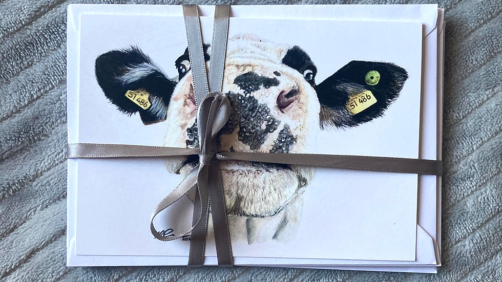 Nosy Cow Notelet Set