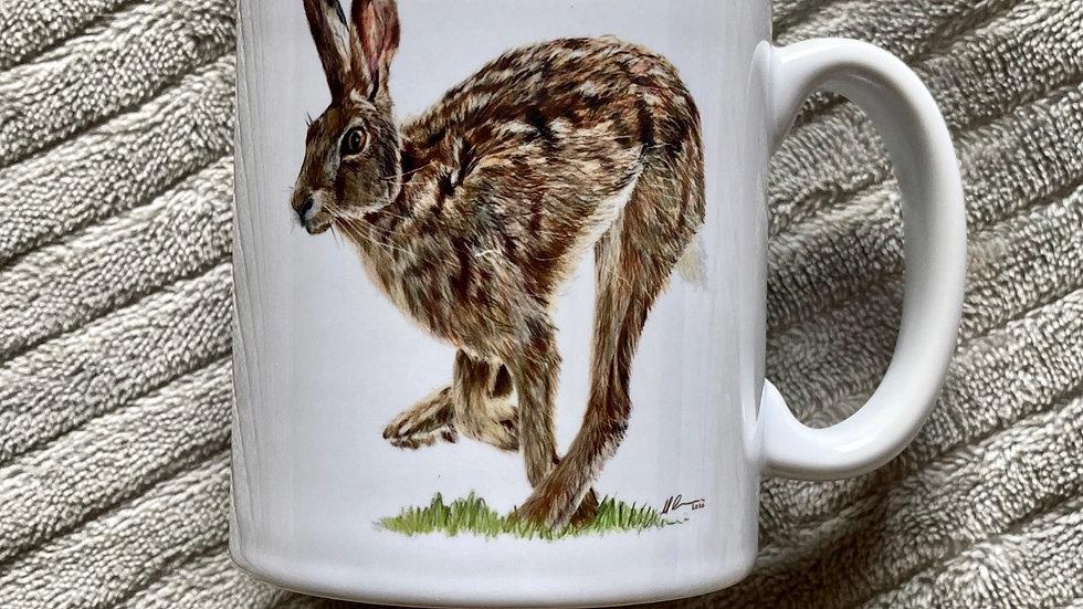 Running Hare - mug