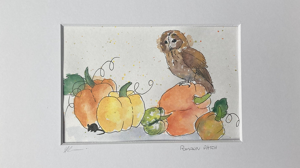 Pumpkin Patch - Original Artwork