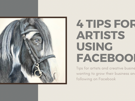 4 Top Tips for Artists Using Facebook