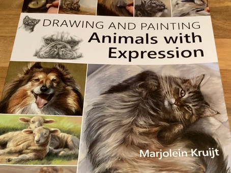 """Book Review - """"Drawing and Painting Animals with Expression by Marjolein Kruijt"""
