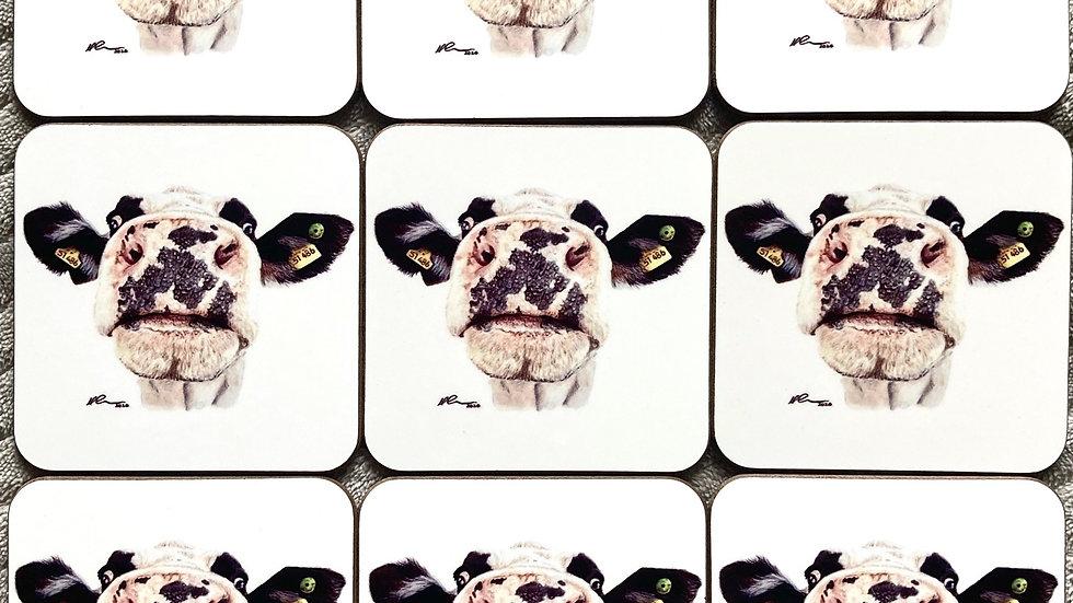 Nosy Cow - coaster