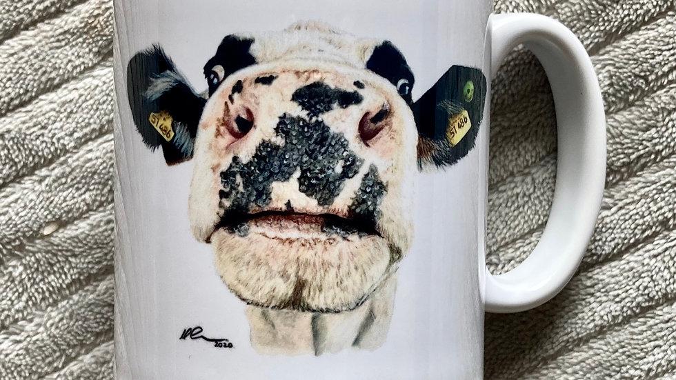 Nosy Cow - mug