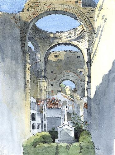 Roman church Sierra Nevada