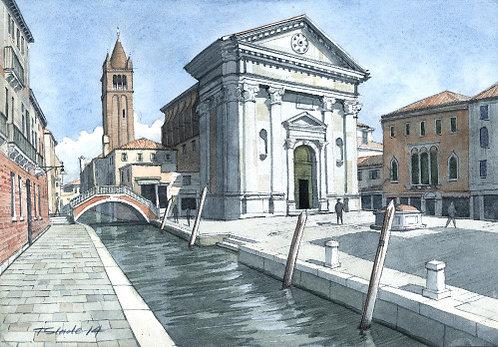 Venice piazza