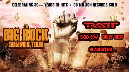 Big Rock Summer Tour RATT, Skid Row, Qui