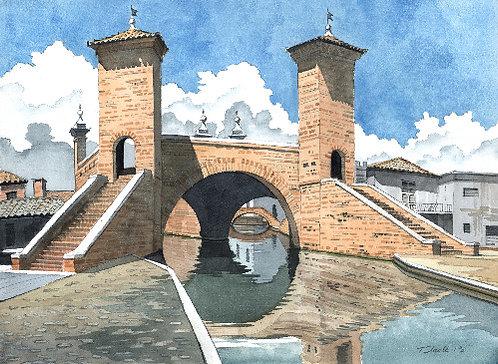 Comacchio Triple Bridge