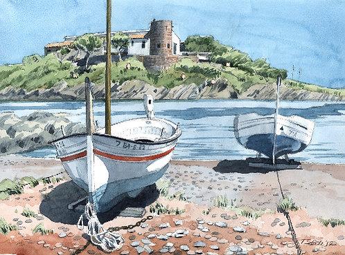 Cadaqués boats