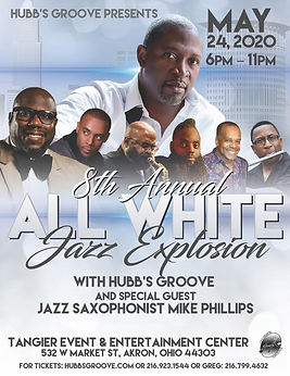 8th Annual All White Jazz Explosion w Mi