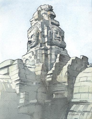 Angkor faces 1