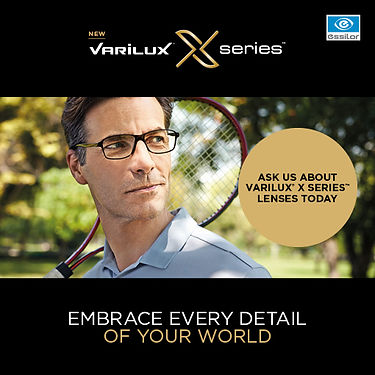 Varilux X Series available in Optique Vision previously T/A RH Major Opticians, Clonmel, Co Tipperary