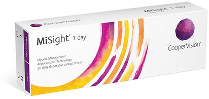 MiSight daily contact lenses optiquevision.ie