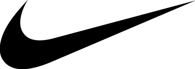 Nike black swoosh