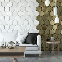 modern-living-room-with-sofa-and-hexagon
