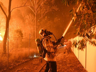 A huge THANK YOU to our Fire Fighters and Emergency Crews in NSW and from a far!
