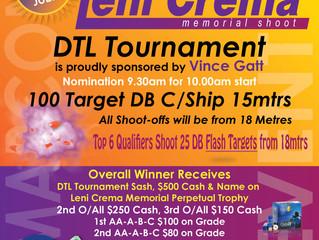 Leni Crema Memorial DTL Tournament