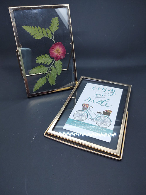 4x6 frame with double glass
