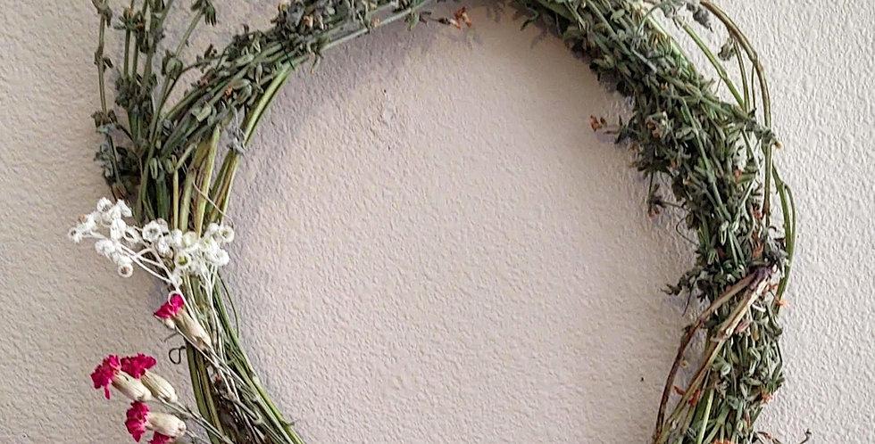 Clary Sage wreath