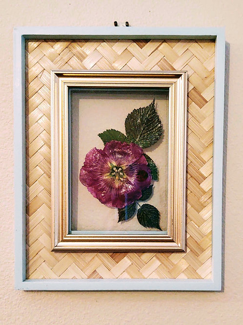 Hollyhock floating frame