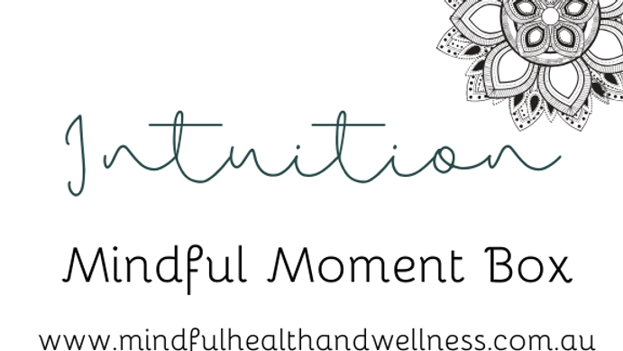 Mindful Moment Box - INTUITION