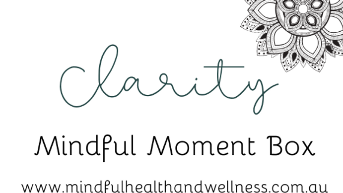 Mindful Moment Box - CLARITY