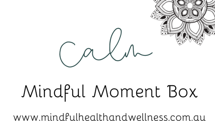 Mindful Moment Box - CALM
