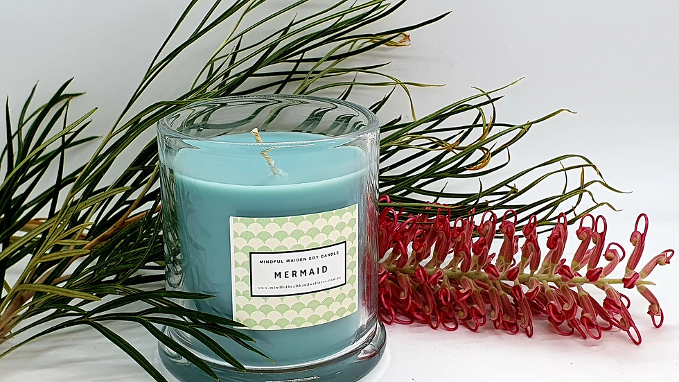 Mindful Maiden Soy Wax Candle LARGE