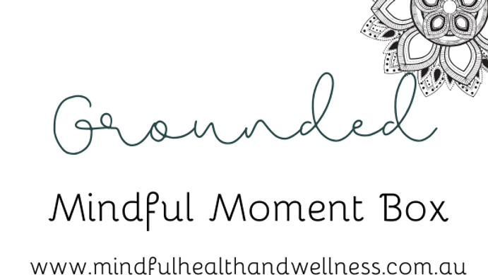 Mindful Moment Box - GROUNDED
