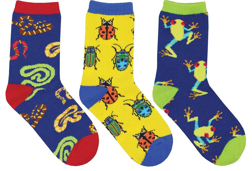 Kid's Science Camp 3-Pack Socks