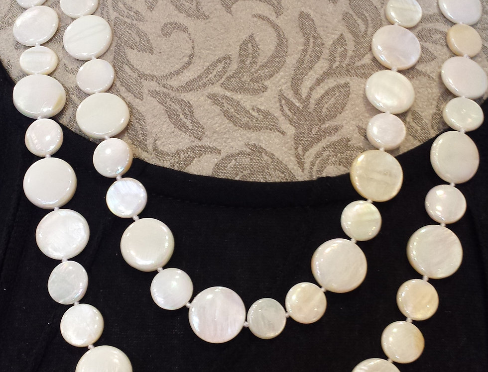 Sea Lily 2028 Single Strand Pearl Necklace