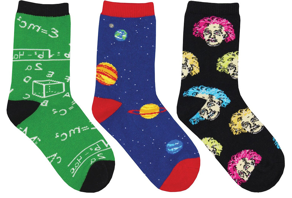Kid's Relatively Awesome 3-Pack Socks