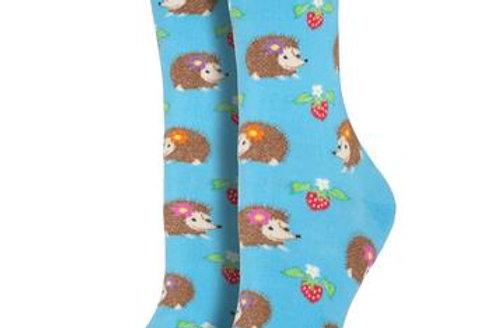 Hedgehogs- Womens Socks - WNC340