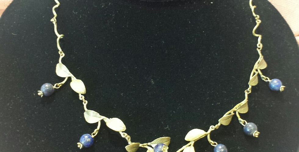 Blueberries Necklace - Michael Michaud Design