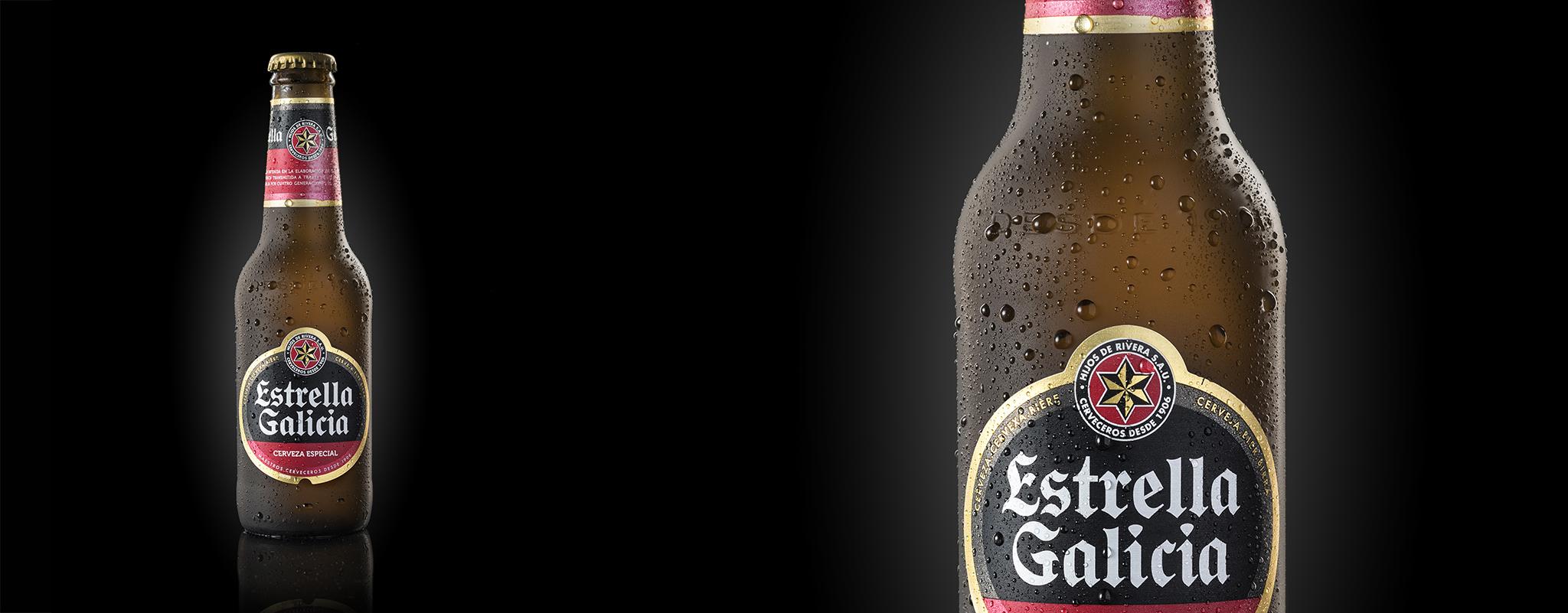 Botella Estrella de Galicia