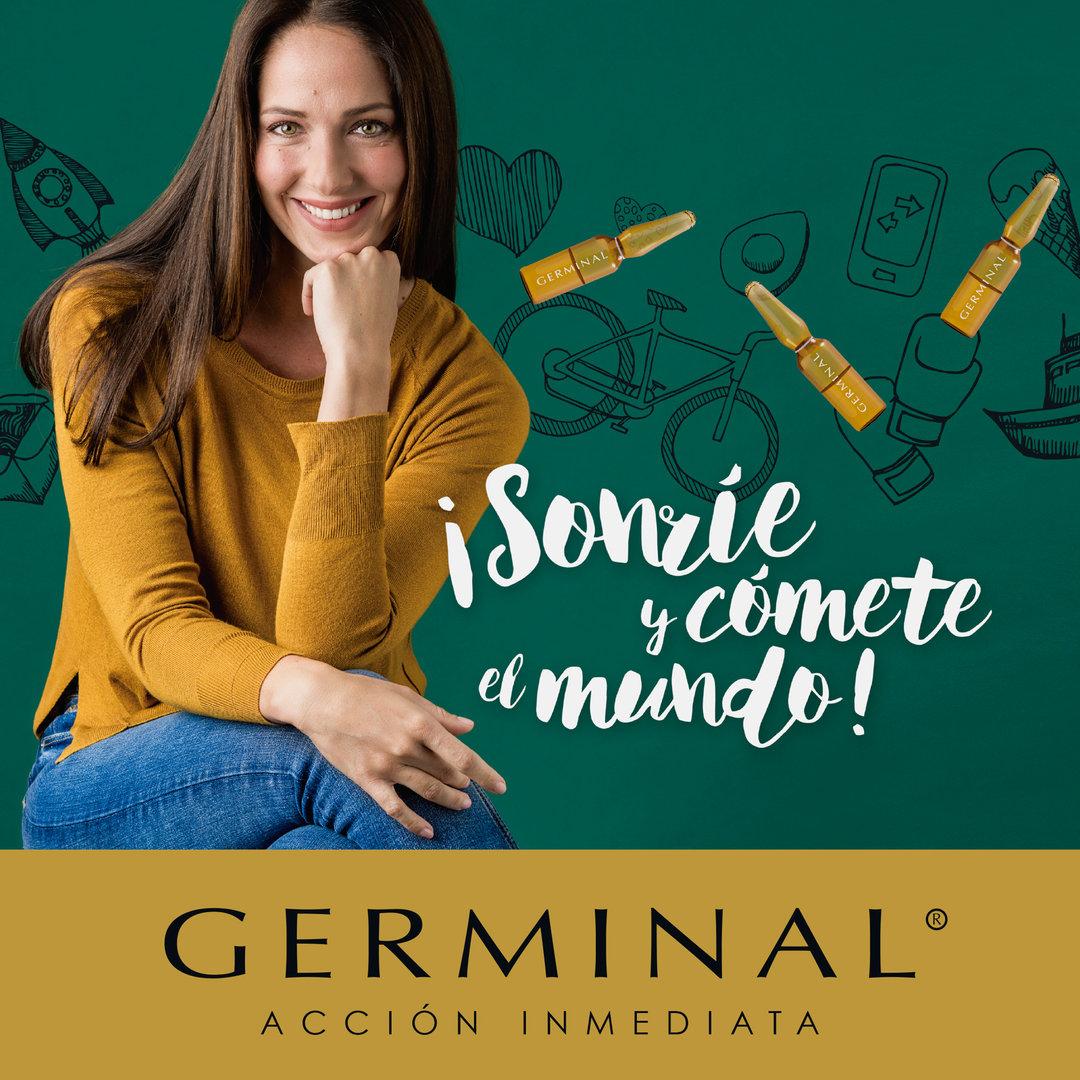 Publicidad para Germinal en la revista Telva