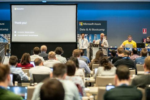 Reunión anual de empleados de Microsoft