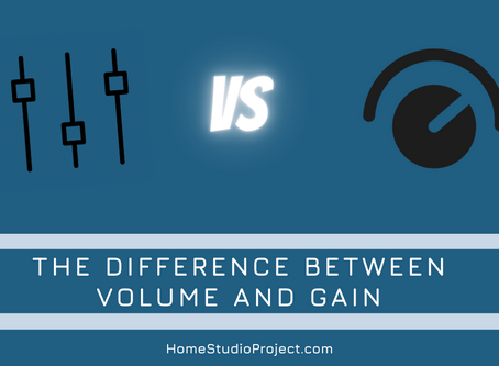 The difference between volume and gain