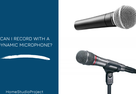 Can I record with dynamic microphone?