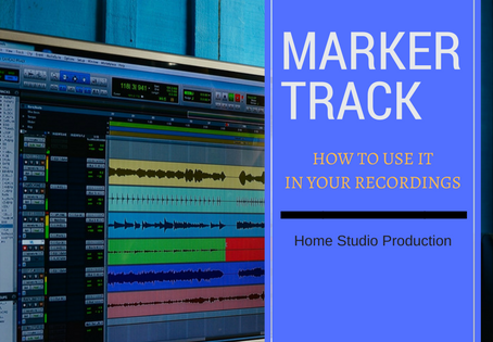 Marker track: What is it and how we use it in our recordings
