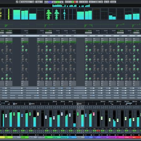 Τα στάδια παραγωγής ενός τραγουδιού.