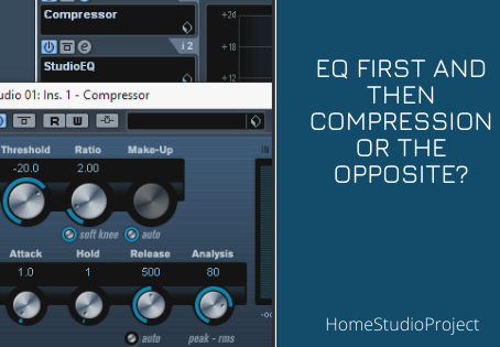 ?EQ first and then compression or the opposite