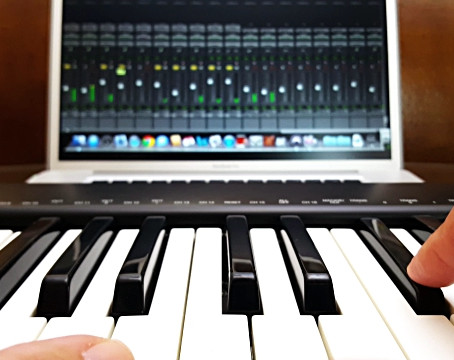 Midi recording:How to record piano with vst instruments