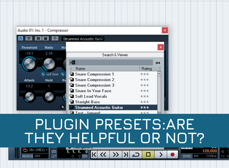 Plugin presets:Are they helpful or not?