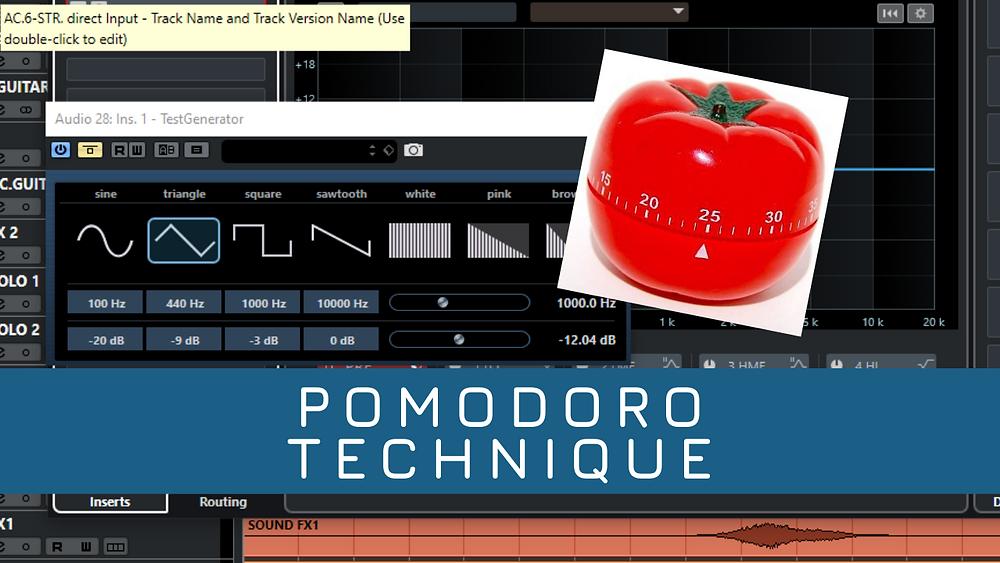 Pomodoro technique in your home studio-HomeStudioProject.com