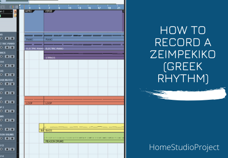 How to record a zeimpekiko (Greek dance)