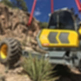 All Mountain Construction- Spider Excavator