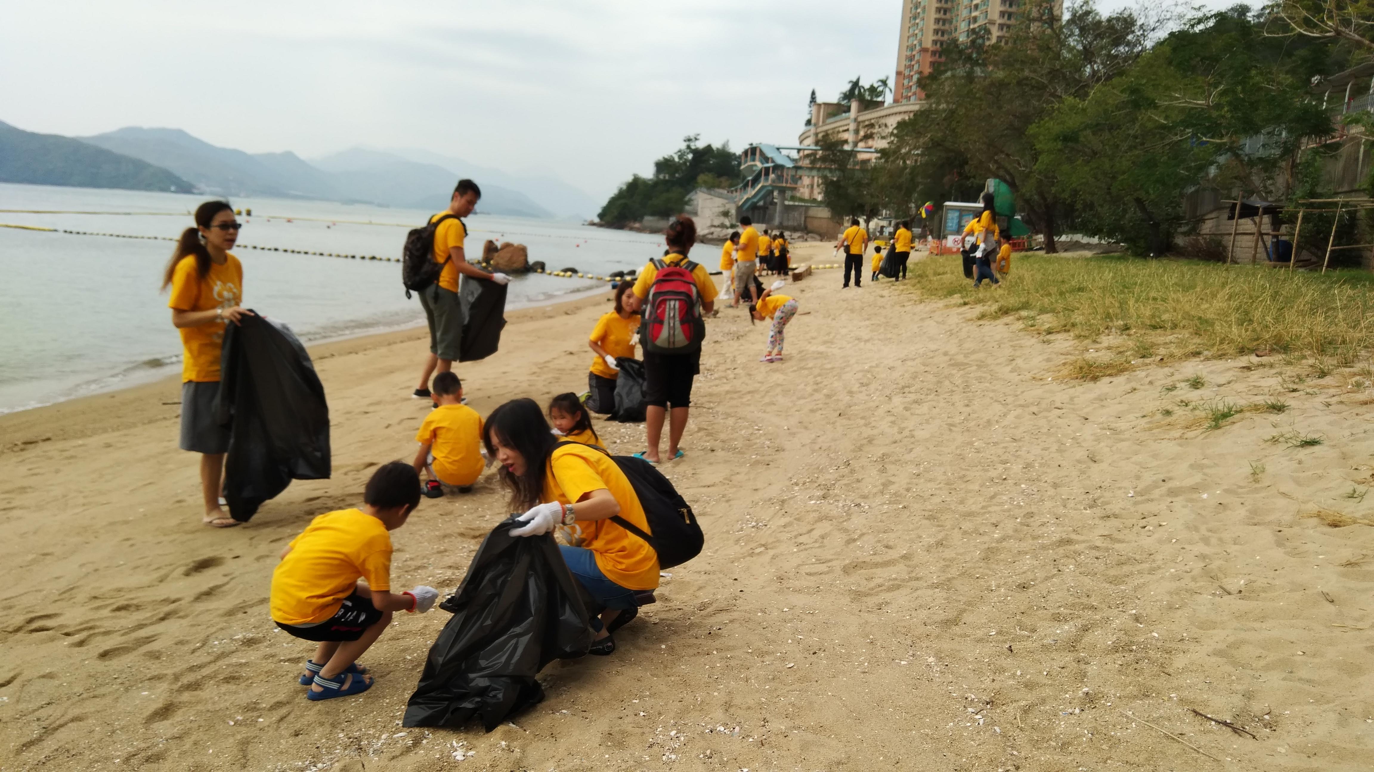 香港國際海岸清潔運動2018