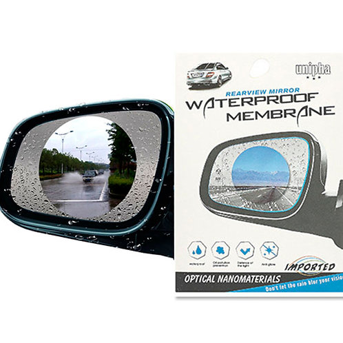 Пленка антидождь на зеркало Waterproof Membrane (2 шт)