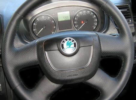 """Новая оплётка от """"Кожа-Рулит!"""" для автомобилей Skoda!"""
