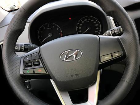 """Новая оплётка от """"Кожа Рулит!"""" на HyundaiCreta (2016-н.в.)и Hyundai ix25 (2014-н.в.)"""